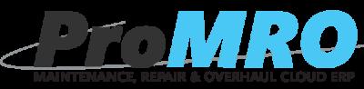 ProMRO software for Maintenance Repair and Overhaul