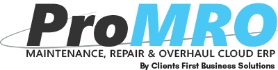ProMRO Maintenance Repair and Overhaul ERP