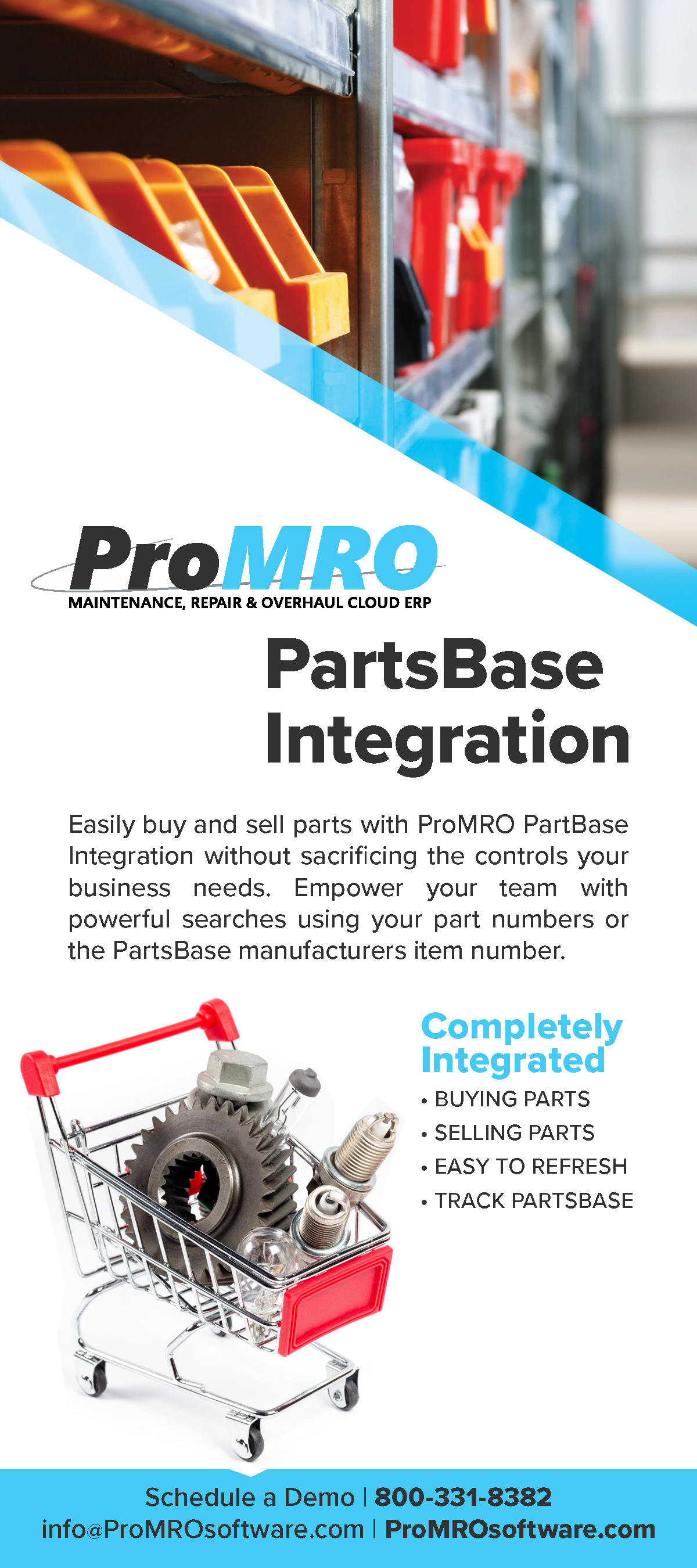 PartsBase Integration to ERP